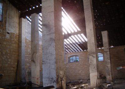 interior antigua bodega pajarete